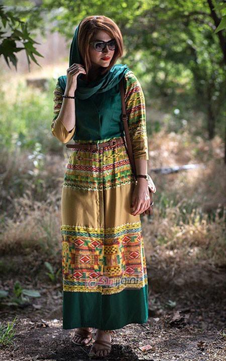 مانتو برای تابستان - مدل مانتو جدید دخترانه