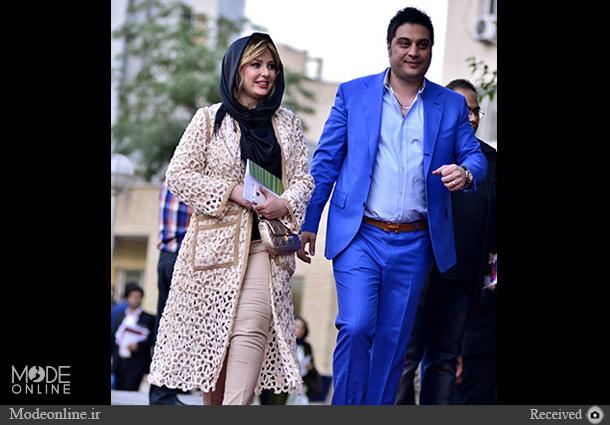 نیوشا ضیغمی و آرش پولاد خان