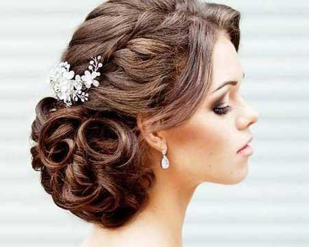 انواع مدل های شینیون موی زنانه زیبا