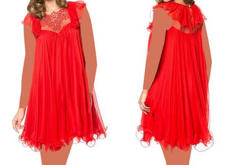 مدل لباس مجلسی،لباس مجلسی با حریر