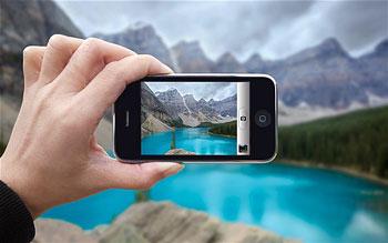 عکاسی بدون لمس صفحهنمایش,تلفنهای همراه هوشمند