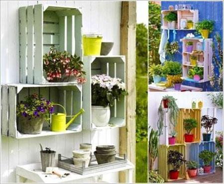 آموزش تزیین گلدان,ایده های خلاقانه تزیین گلدان سفالی,دکوراسیون فضای سبز