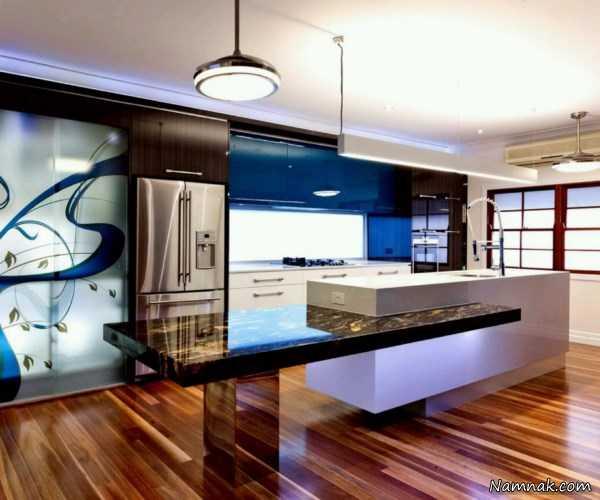کابینت جدید آشپزخانه ، دکوراسیون آشپزخانه ، کابینت و دکوراسیون آشپزخانه