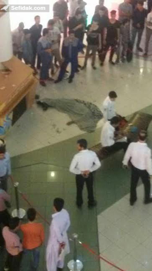 خودکشی در الماس شرق مشهد