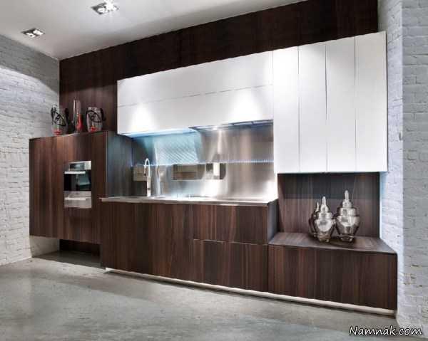 جدیدترین کابینت های چوبی ، مدل کابینت 2016 ، انواع کابینت آشپزخانه براق