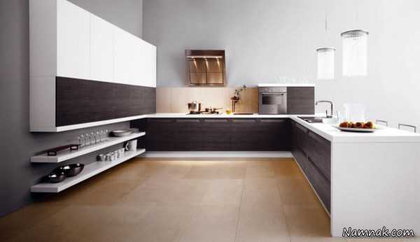 دکوراسیون شیک آشپزخانه ، دکوراسیون آشپزخانه 2015 ، مدل کابینت mdf
