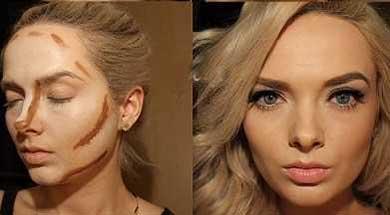 آموزش زیرسازی و آرایش صورت