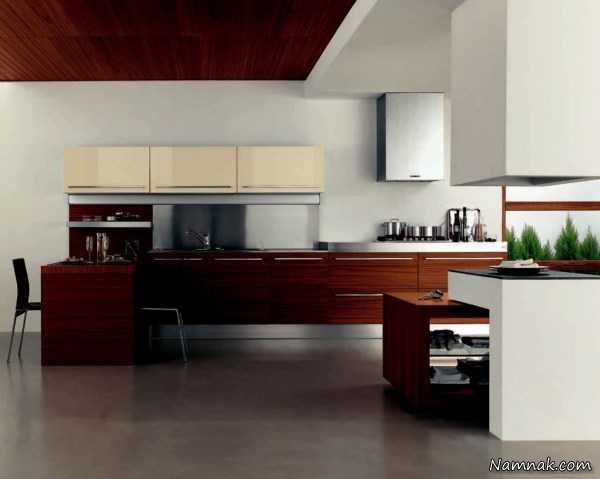 دکوراسیون مینیمالیست ، دکوراسیون آشپزخانه ، کابینت و دکوراسیون آشپزخانه