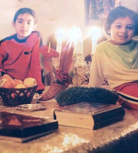 ۲ تصویر بسیار جالب از نوجوانی یکتا ناصر!