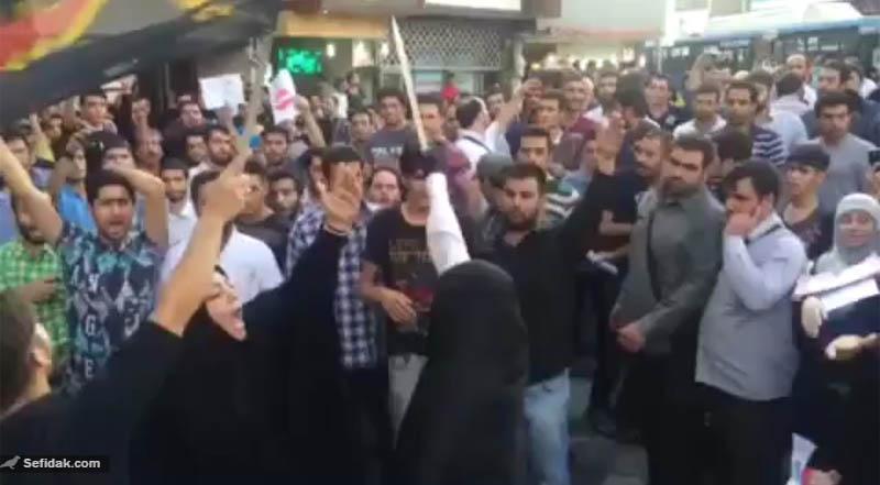 قمه زنی دختر ایرانی به خاطر فیلم رستاخیز