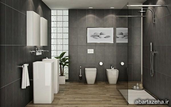 لوکس ترین دکوراسیون های حمام 2016