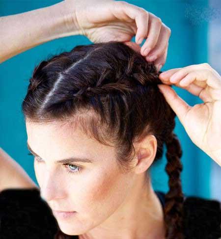 جلوگیری از عرق کردن موها