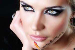 آرایش چشم برای شب