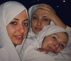 سلفی بازیگران زن ایرانی در صحرای عرفات حج امسال