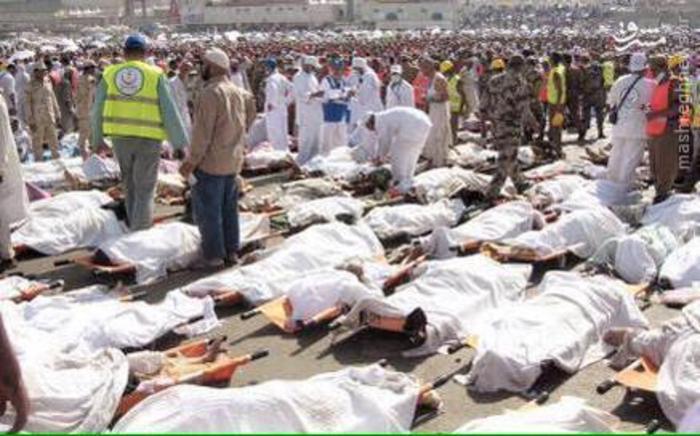 تصاویر مراسم خاکسپاری جانباختگان حادثه منا