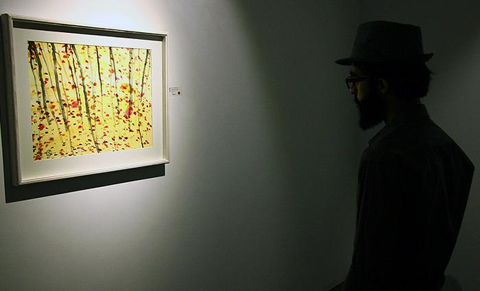(تصاویر) نمایشگاه نقاشی مریم حیدرزاده