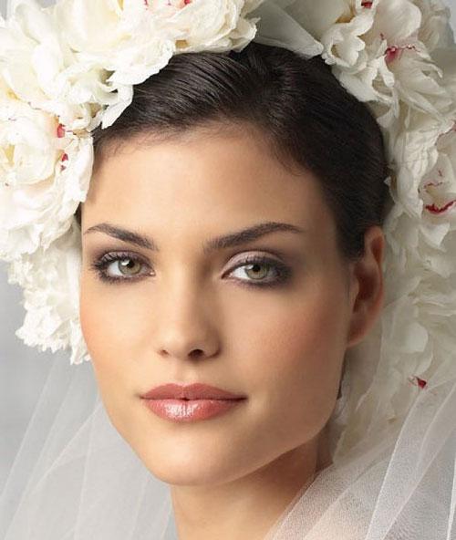 مدل آرایش و گریم ایتالیایی عروس