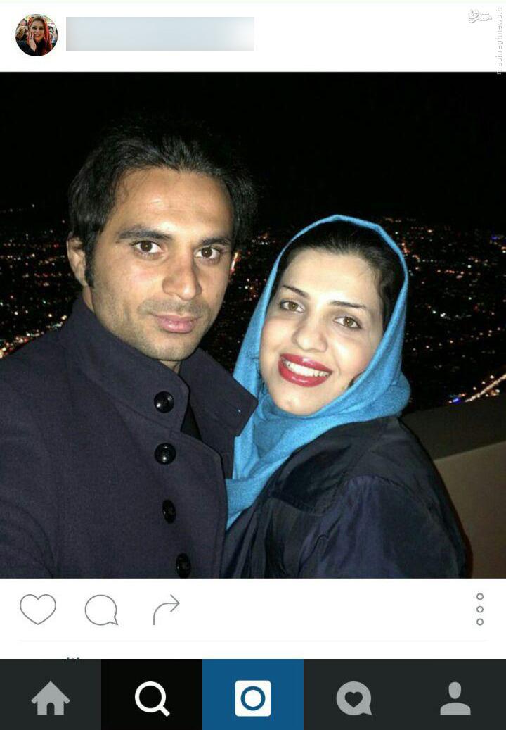 عکس همسر و دختر و پسر هادی نوروزی