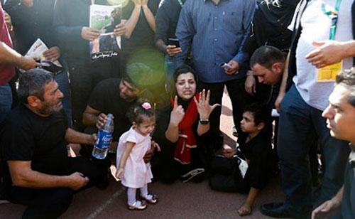 عکس جنجالی همسر هادی نوروزی واقعی است و فتوشاپ نیست