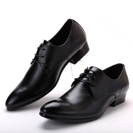 مدل کفش مشکی مردانه, مدل کفش جلو گرد مردانه