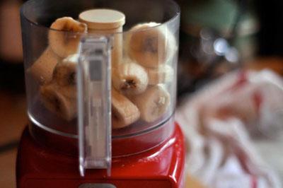 مواد لازم برای بستنی رژیمی با موز, طرز تهیه بستنی موزی