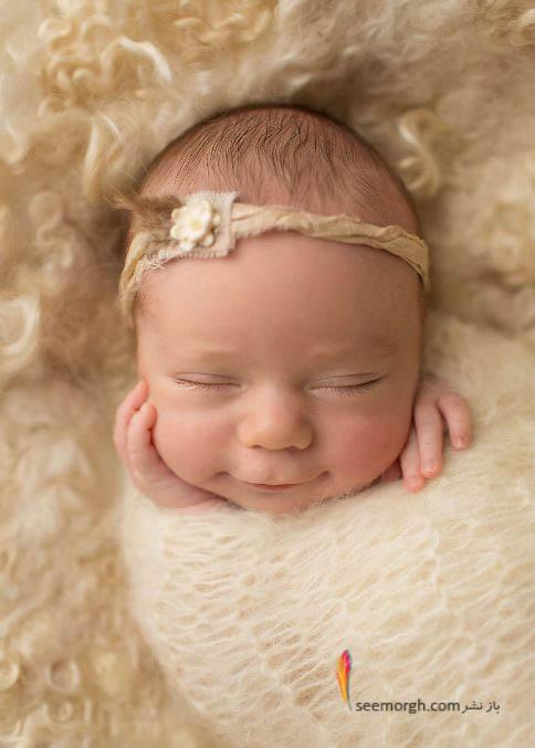 عکس زیبا از نوزاد