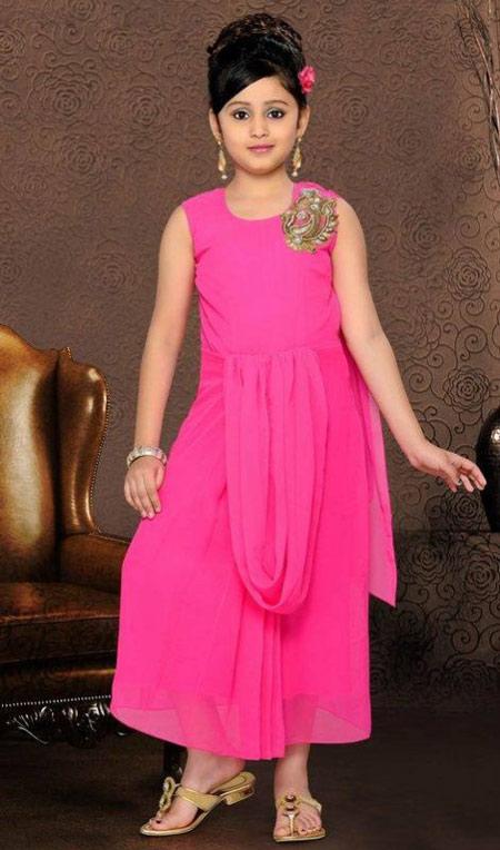 لباس مجلسی دخترانه, لباس هندی دختر بچه ها
