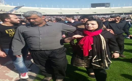 تصاویر ارسالی از ورزشگاه آزادی