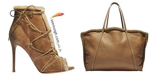 ست کیف و کفش پاشنه دار پاییزی به پیشنهاد مجله ال Elle