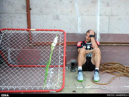 عکس: حال بازیکنان پرسپولیس در غیاب نوروزی