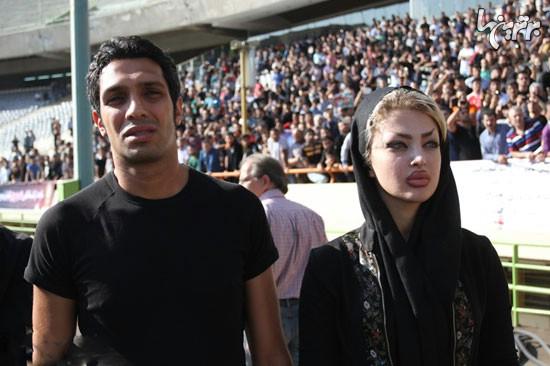 عکس جنجالی همسر سپهر حیدری در مراسم تشییع نوروزی !