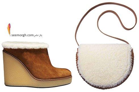 ست کیف و کفش لژدار پاییزی به پیشنهاد مجله ال Elle