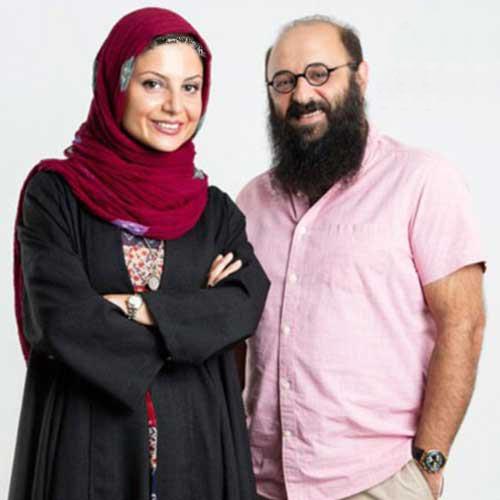 عکس جدید از سولماز غنی و همسرش