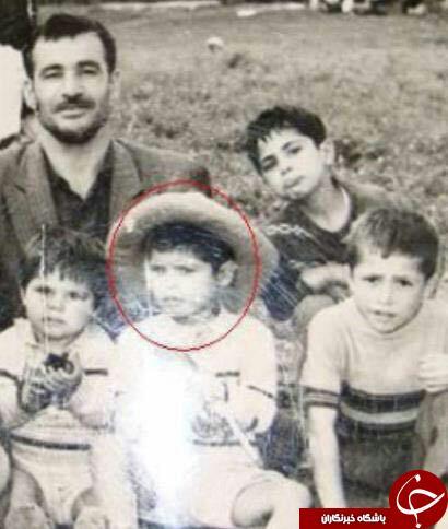 کودکی علی دایی در کنار خانوادهاش /عکس