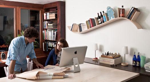 ایده هایی ناب و جالب برای قفسهی کتاب