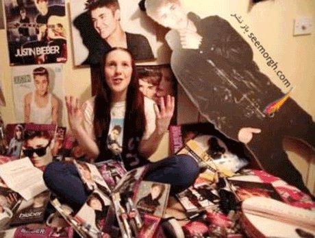 عشق عجیب دختر ۲۲ ساله به خواننده جوان و معروف! +تصاویر