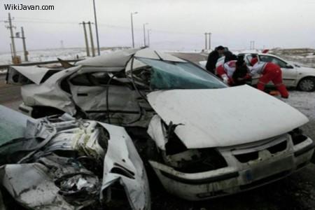 تصادف اتومبیل