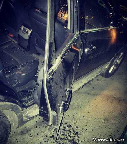 رضا رشیدپور ، سرقت از خودروی مجری دید در شب