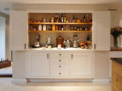 کابینت کمدی مخفی در آشپزخانه