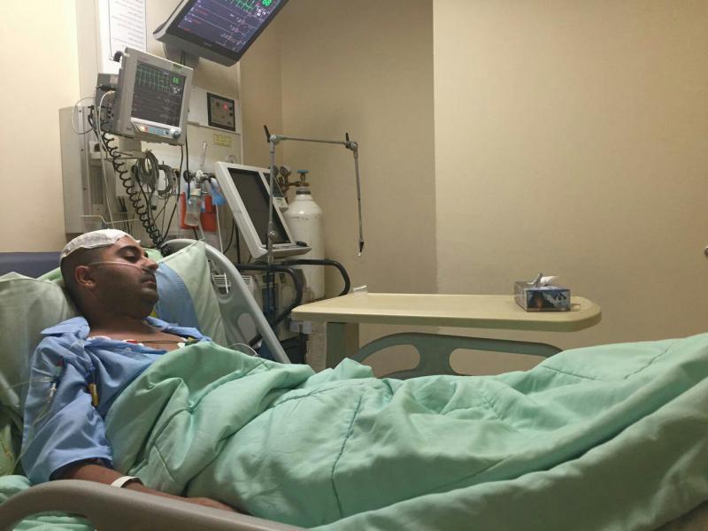 آخرین وضعیت بهنام صفوی بعد از عمل جراحی در بیمارستان + تصاویر