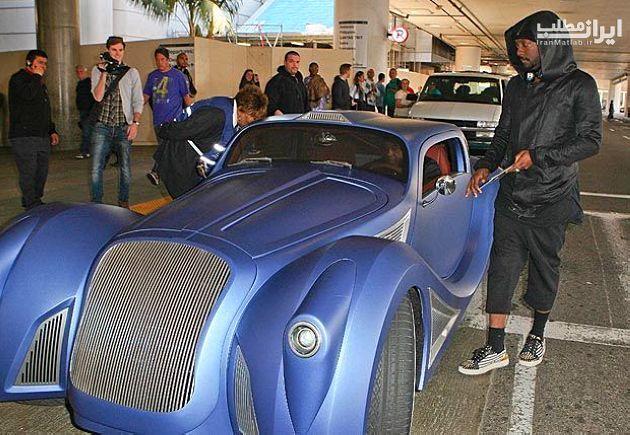 ماشین های لوکس بازیگران هالیوود عکس ماشین