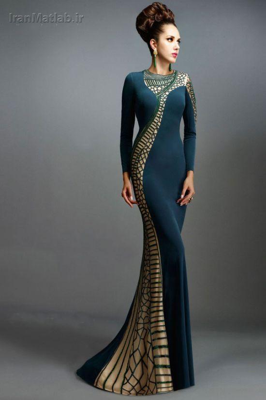 این لباس شب های زنانه واقعا زیباست + ۳۸ مدل