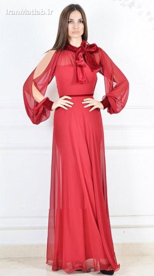 جدیترین مدل های لباس شب زیبا و جدید برای خانم های شیک پوش و عکس لباس شب زنانه