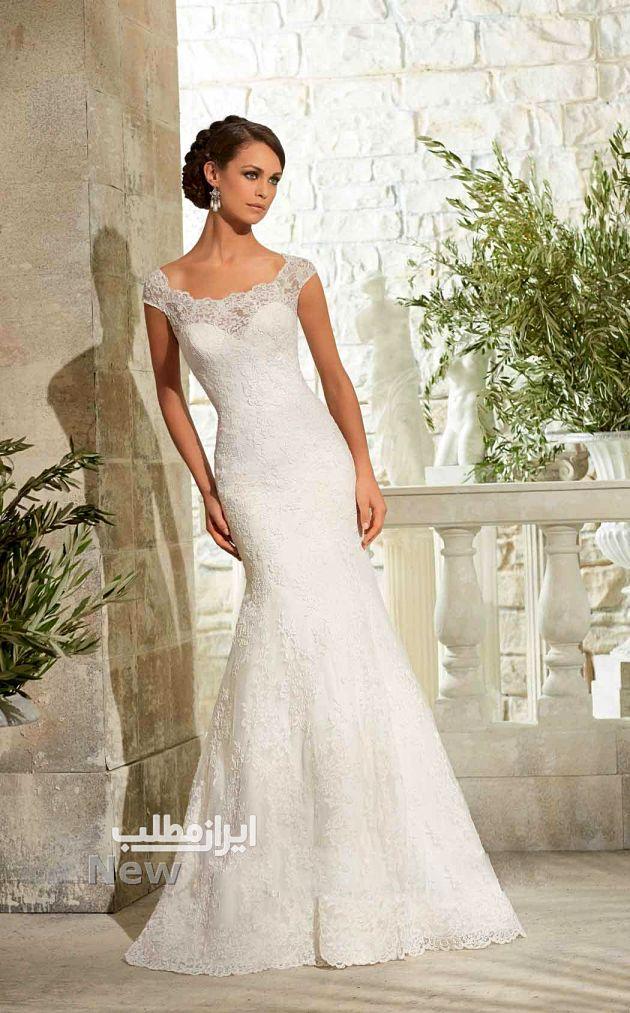 مدل لباس عروس تک و جدید + ۳۵ عکس