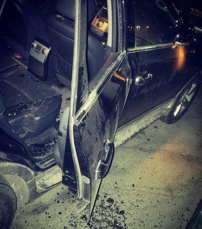 سرقت از خودرو مجری معروف + عکس