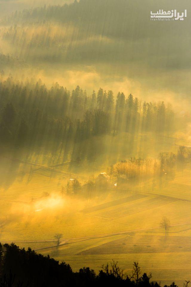 عکس های زیبا عکس منظره اسلوونی