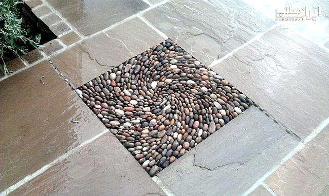هنرنمایی جالب چیدمان سنگ