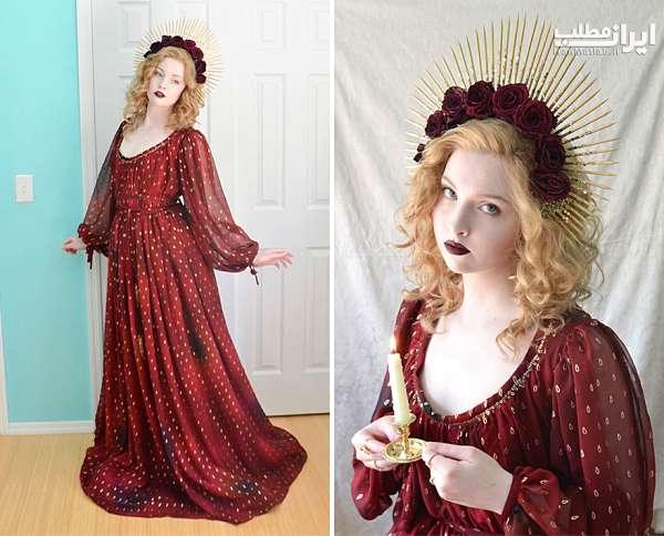 طراحی لباس دختر 18 ساله عکس دختر
