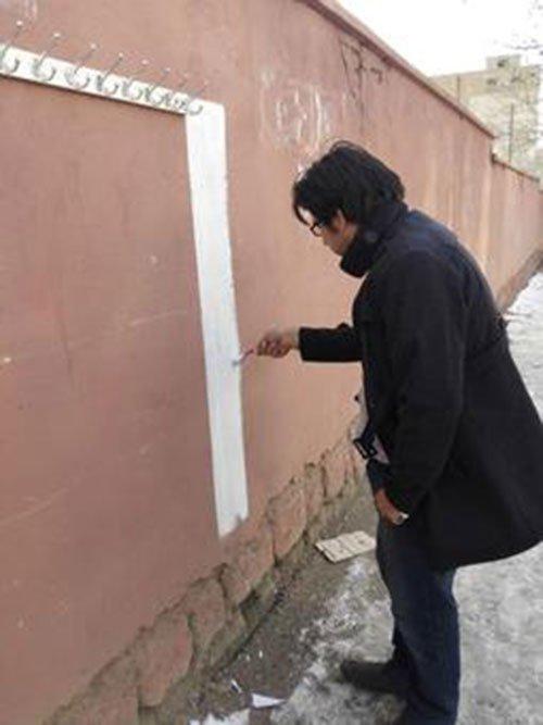 دیوار مهربانی به الیگودرز رسید +عکس