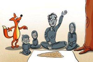 کاریکاتور ممتاز نیوز: لبنیات امروز گران تر از دیروز!